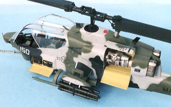 Ah 1w Super Cobra Helicopter